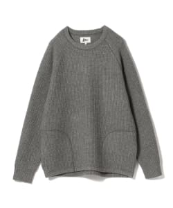 【タイムセール対象品】Pilgrim Surf+Supply / GLEN Waffle Pocket Crew Knit