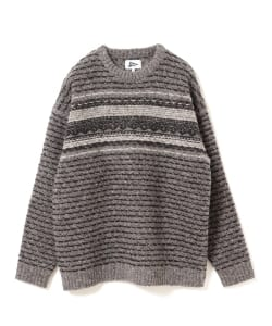 Pilgrim Surf+Supply / Seele Reverse Fair Isle Sweater