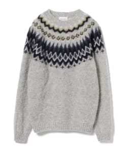 NORSE PROJECTS / BIRNIR FAIRISLE Knit