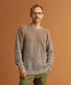 Pilgrim Surf+Supply / Roth Gradient Crew Neck Sweater