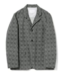 nanamica / Glen check Jacket