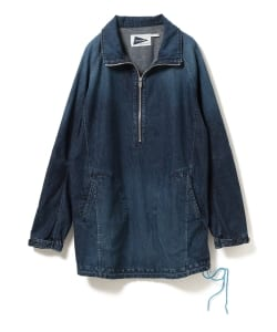 【タイムセール対象品】nonnative for Pilgrim Surf+Supply / HANDYMAN PULLOVER COTTON 8oz DENIM VW