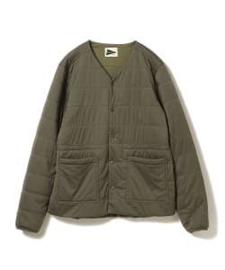 【予約】<MEN>snow peak for Pilgrim Surf+Supply / Reversible Insulated Cardigan