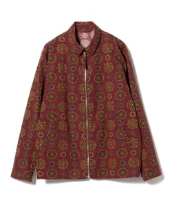 【予約】Pilgrim Surf+Supply / Nash Printed Drizzler Jacket