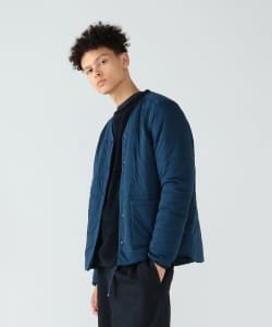 【予約】<MEN>snow peak × Pilgrim Surf+Supply / Reversible Insulated Cardigan AW19