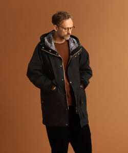 <MEN>Barbour × Pilgrim Surf+Supply / St. Ives Hooded Coat