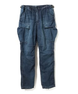 "【7/12~再値下げ】nonnative for Pilgrim Surf+Supply / TROOPER TROUSERS RELAX FIT RELAX FITCOTTON 8oz DENIM VW ""BEN"""