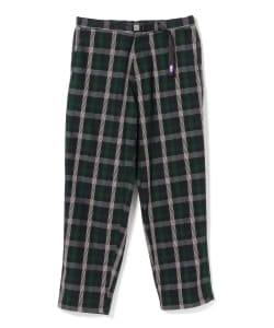 THE NORTH FACE PURPLE LABEL / Twill Check Wide Field Pants