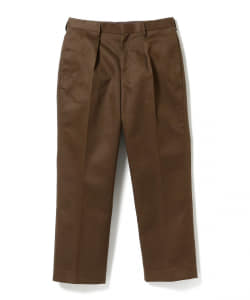 【期間限定販売】BROWN by 2-tacs / Straight slacks