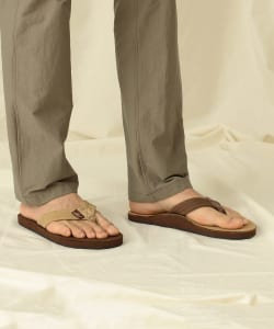 <MEN>RAINBOW SANDALS for Pilgrim Surf+Supply / Leather Sandals
