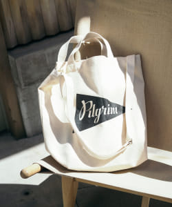Pilgrim Surf+Supply / Canvas Logo Tote