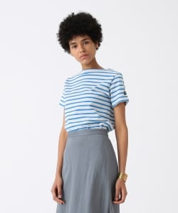 <WOMEN>ORCIVAL × Pilgrim Surf+Supply / 別注 Border S/S Tee