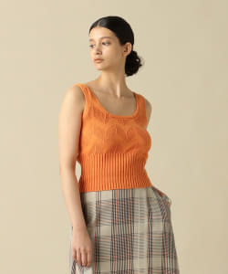 【一部予約】Pilgrim Surf+Supply / Letta Linen Knit Tank