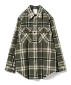 MADISONBLUE / Wool Check Shirt