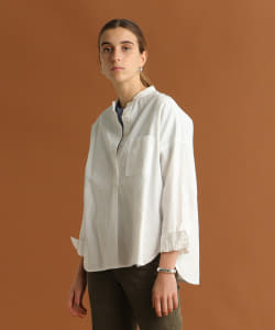 【予約】Pilgrim Surf+Supply / Deanna Band Collar Shirt