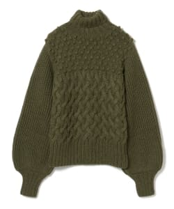 APIECE APART / Crop Turtle Neck Knit