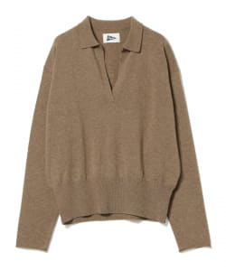 【アウトレット】Pilgrim Surf+Supply / Zuri Open Collar LS Polo