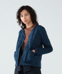 【予約】<WOMEN>snow peak × Pilgrim Surf+Supply / Reversible Insulated Cardigan FW19