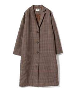 Pilgrim Surf+Supply / Alix Plaid Tailored Coat