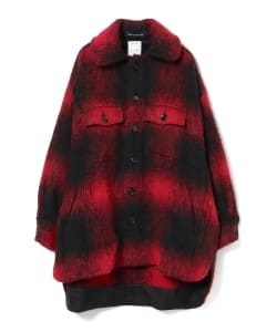 MADISONBLUE / Oversize Shirt Check Coat