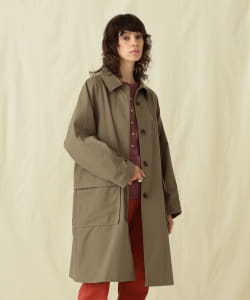 【予約】Pilgrim Surf+Supply / Emalia Nylon Blend Balmacaan Coat
