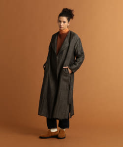 Pilgrim Surf+Supply / Val Belted Gauze Overcoat