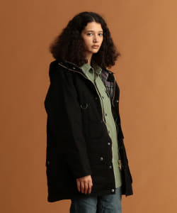 <WOMEN>BARBOUR × Pilgrim Surf+Supply / St. Ives Hooded Coat