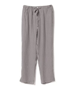 SLEEPY JONES / Gingham Pants