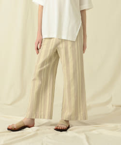 Pilgrim Surf+Supply / Teagan Wide Leg Stripe Pant