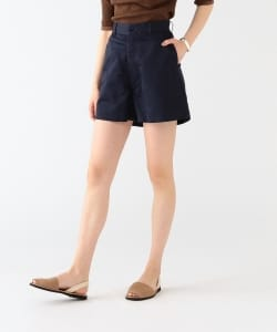 MADISONBLUE / Cotton Linen Flare Short Pants