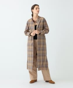 Pilgrim Surf+Supply / Marta Wool Plaid Midi Dress