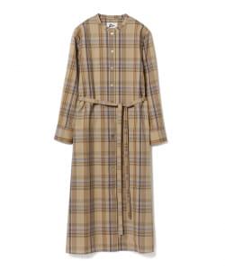 【アウトレット】Pilgrim Surf+Supply / Marta Wool Plaid Midi Dress