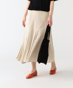 Pilgrim Surf+Supply / Aggie Pleated Linen Skirt