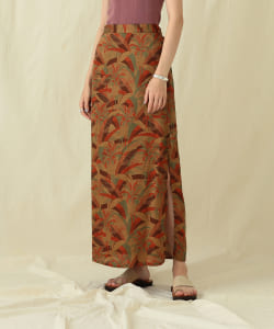 【予約】Pilgrim Surf+Supply / Gail Printed Wrap Skirt