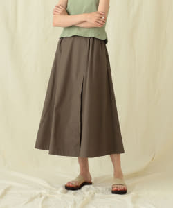 Pilgrim Surf+Supply / Sawyer Gathered Midi Skirt