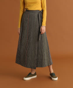 【予約】Pilgrim Surf+Supply / Lina Aizu Wrap Skirt