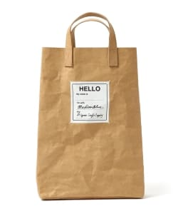 "MADISONBLUE for Pilgrim Surf+Supply / ""Gramercy Ⅱ"" TOTE BAG"