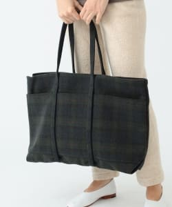 AMIACALVA / 6pocket Wool Tote