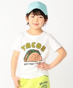 BEAMS mini / TACOS Tシャツ (90~120㎝)
