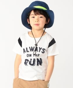 BEAMS mini / RUN Tシャツ (90~120㎝)