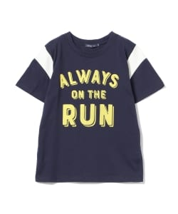 BEAMS mini / RUN Tシャツ (130~150㎝)