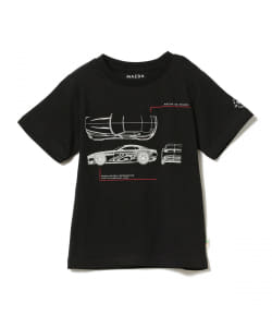 MAZDA×BEAMS mini / VISION 3D CAR Tシャツ (90~150㎝)