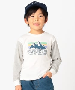 BEAMS mini / MOUNTAIN ロングTシャツ (90~120㎝)