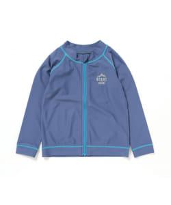 BEAMS mini / ZIP ラッシュガード (S,M,L)
