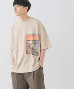 【WEB限定】BeAMS DOT / ART PRINT TEE