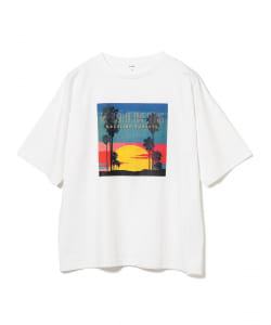 【WEB限定】BeAMS DOT / TIME SUNSETS Tシャツ
