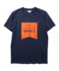 CUISSE DE GRENOUILLE×BEAMS LIGHTS / 40th別注 フラッグプリントTシャツ