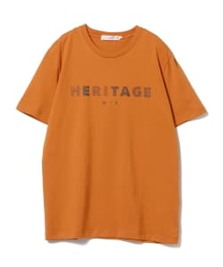 BEAMS LIGHTS / HERITAGE プリントTシャツ