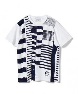 【タイムセール対象品】BEAMS LIGHTS with MIC*ITAYA / MIX BORDER T-SHIRT