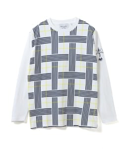 【予約】BEAMS LIGHTS with MIC*ITAYA / CHECK LONG SLEEVE T-SHIRT